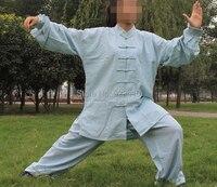 индивидуальные 8 цветов высокое качество хлопок и лен кунг-фу Ti-полный чи одежды боевых искусств костюмы для женщин и мужчин