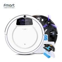 Fmart E-550W (S) Robot Vacuum Cleaner Czyszczenie Wyposażenie Domu 3 w 1 do Czyszczenia Zamiatarka Ssania + + Mop Wyświetlacz Led Aspirator