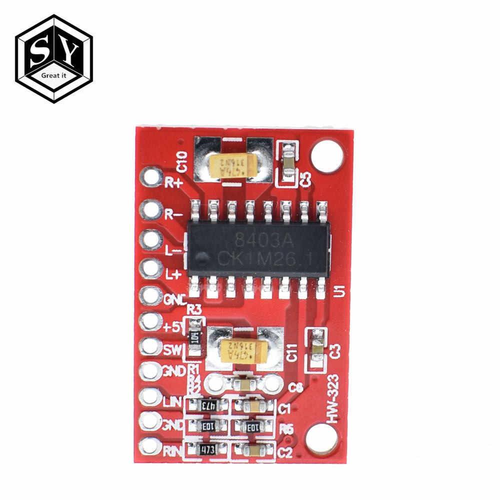 Detail Feedback Questions about 1PCS 3W*2 Mini Digital Power