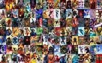 Gratis Verzending Custom Marvel stripheld familie Poster Fashion Captain America Iron man Muursticker Hulk Thor Behang #0402