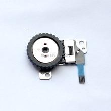 Novo volante de marcação do obturador e abertura reparação assembléia para Panasonic DMC LX7 LX7 Câmera