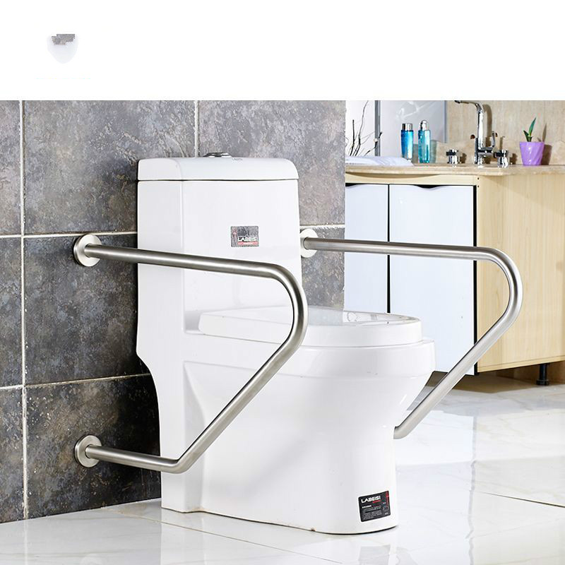 304 stainless steel handrail toilet toilet handrail old man bathtub safety handrail disabled shower room handrail free shipping black antique bathroom full copper bath safety toilet old man handrail older accessible handrail handle50cm 9025k