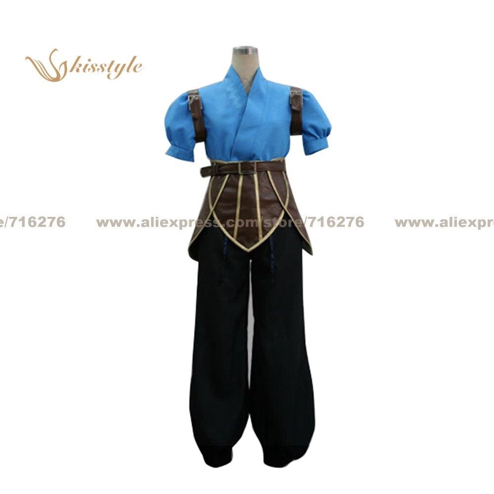 Kisstyle mode contes de l'abîme Luke fon Fabre uniforme COS vêtements Cosplay Costume, personnalisé accepté