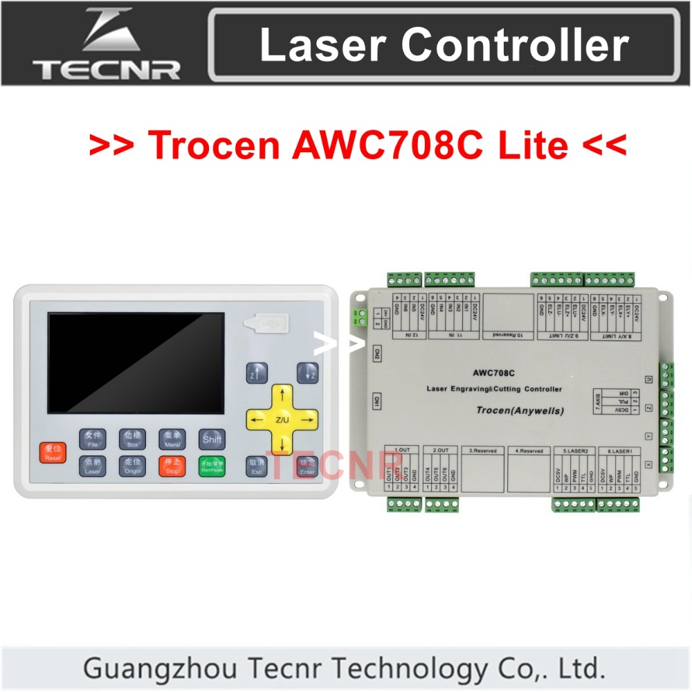 CO2 laser DSP controller system Trocen AWC708C Lite for laser cutter engraver,replace AWC608 портал сайт