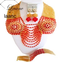 USA Costume Jewelry Set Black Wedding Accessories laanc AL096