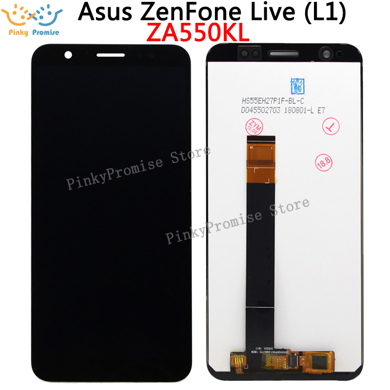 5.5 inch Full LCD DIsplay+Touch Screen Digitizer Assembly For Asus ZenFone Live L1 ZA550KL X00RD-in Mobile Phone LCD Screens from Cellphones & Telecommunications on AliExpress - 11.11_Double 11_Singles' Day 1