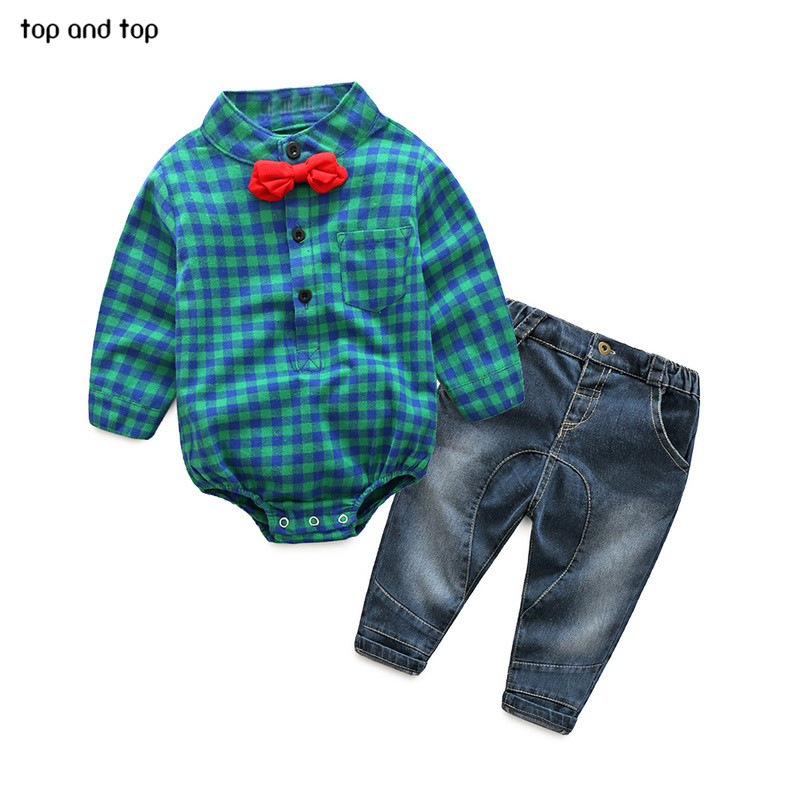 2017-Fashion-Baby-Boy-Clothes-Sets-Gentleman-rompers-pants-Suit-Long-Sleeve-Kids-Boy-Clothing-Set-kids-clothes-2