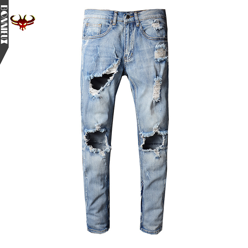 High Quality 2017 Men's cotton jeans denim New fashion summer male Casual  pants Soft and comfortable casual trousers 17 shark summer new italy classic blue denim pants men slim fit brand trousers male high quality cotton fashion jeans homme 3366