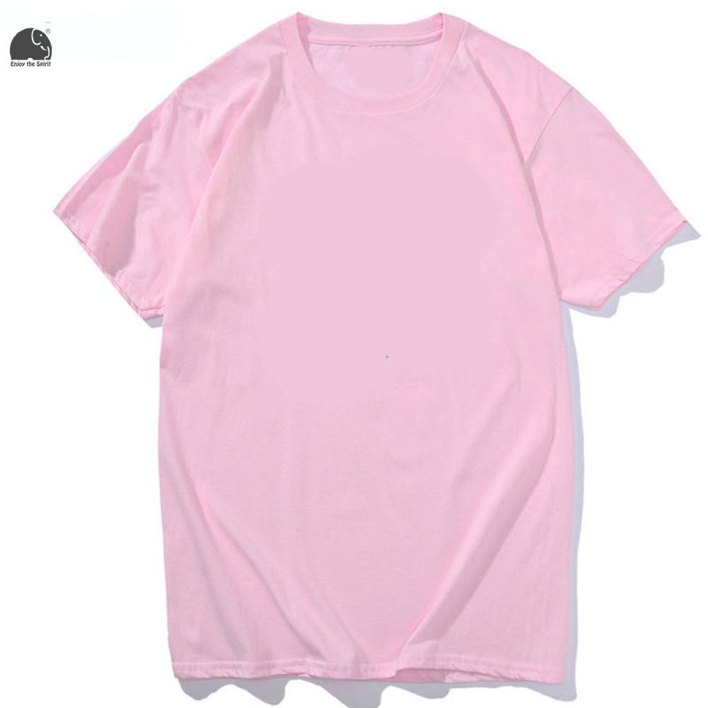 EnjoytheSpirit 2017 Men's Fashion T shirt Plain Tee Shirt Maroon ...