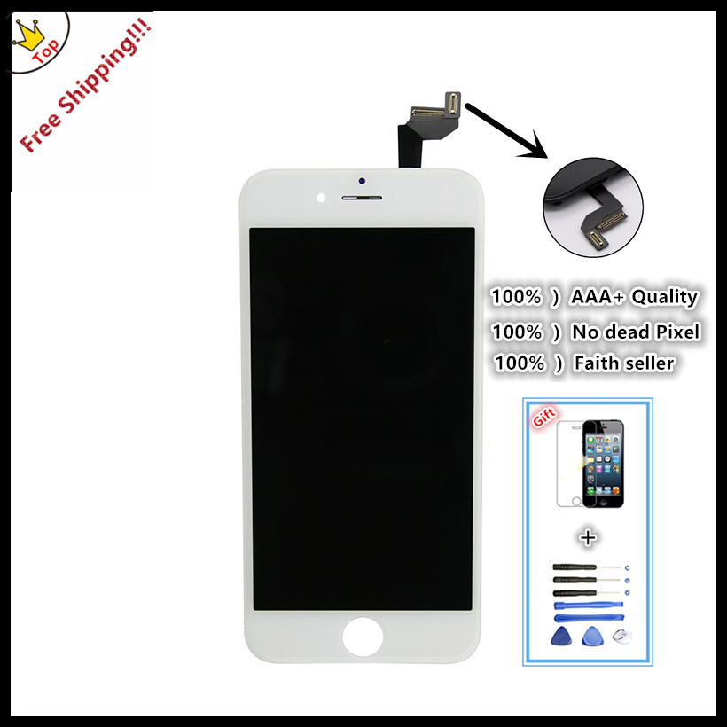 50pcs/lot DHL Free  100% tested For Brand new 4.7' for iPhone 6s LCD instead screen Display digitizer Assembly  wholesale phone