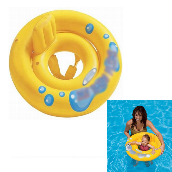 New Diameter 30 Baby Pool Float Toy Infant Ring Toddler Inflatable Ring Baby Float Swim Ring in Pool Water Sports Accessory