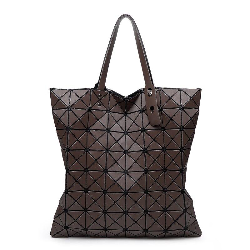 69980daa61de Bao матовые женские цвета сумка лазерной SAC сумки 8*8 Геометрия Стеганая  Сумка Сложите Над сумки с логотипом 690