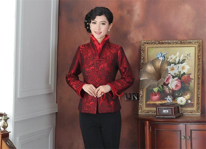 El Envío Gratuito! venta al por mayor de las mujeres chinas de seda/satén chaque
