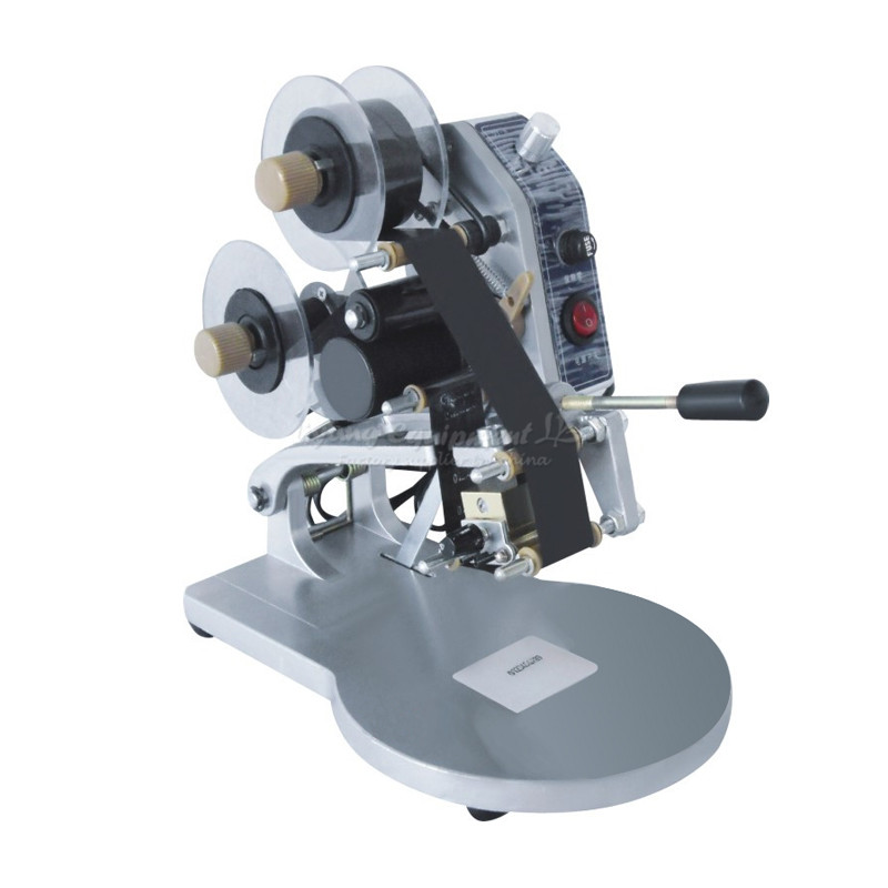 DY-8 ribbon coding machine  mark date of production plastic bags coding machine manual ribbons marking machine digital tube coding experimental model of scientific equipment diy manual production popular science kit