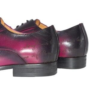 Image 5 - Daniel virea chaussures en cuir pour hommes, chaussures de bureau, affaires, faites à la main, fête et mariage, en oxfords