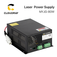 80W CO2 Laser Power Supply For CO2 Laser Engraving Cutting Machine MYJG 80W