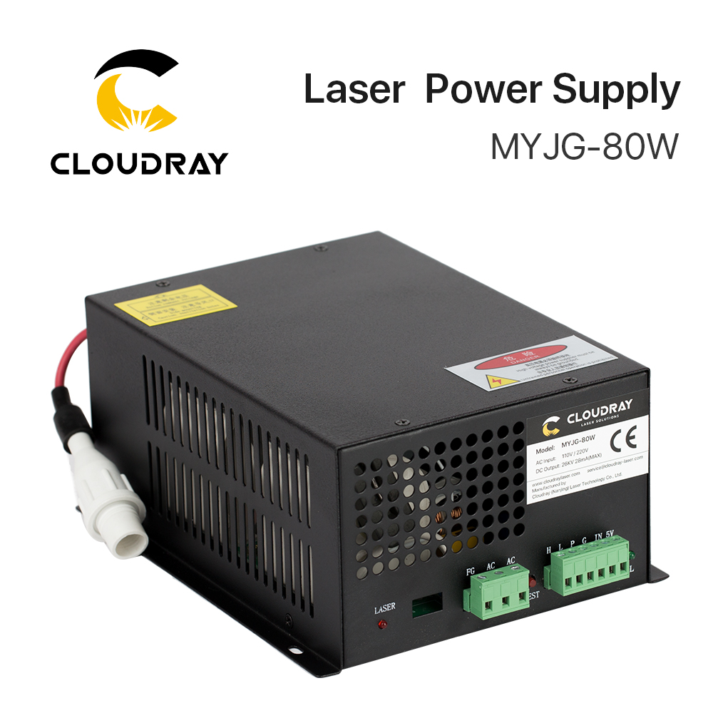 все цены на Cloudray 80W CO2 Laser Power Supply for CO2 Laser Engraving Cutting Machine MYJG-80W category