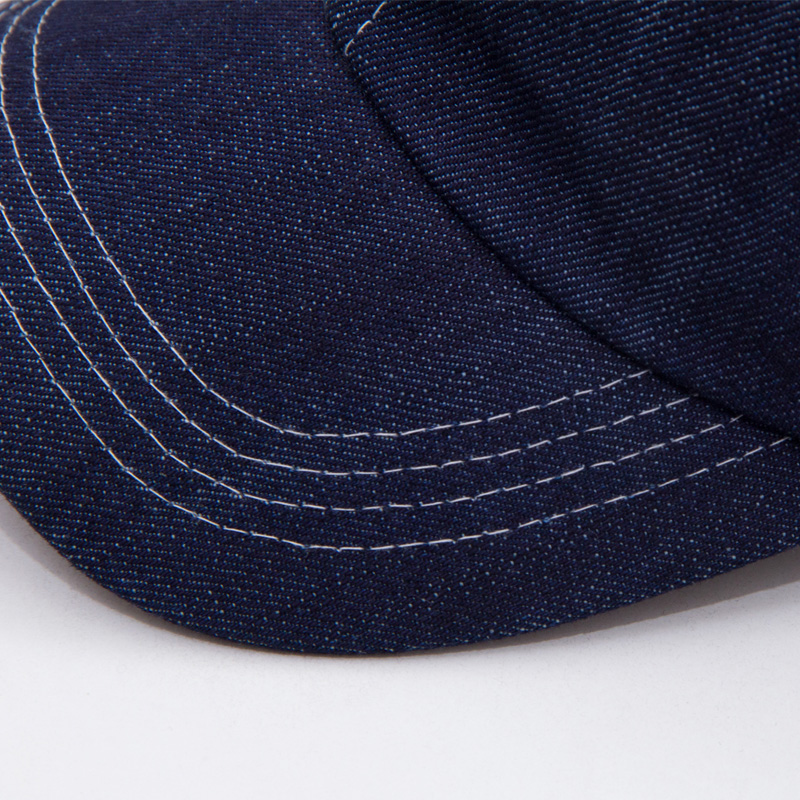 le chef baseball cap works cool vent caps fashion denim cowboy hat hotel waiter kitchen beret