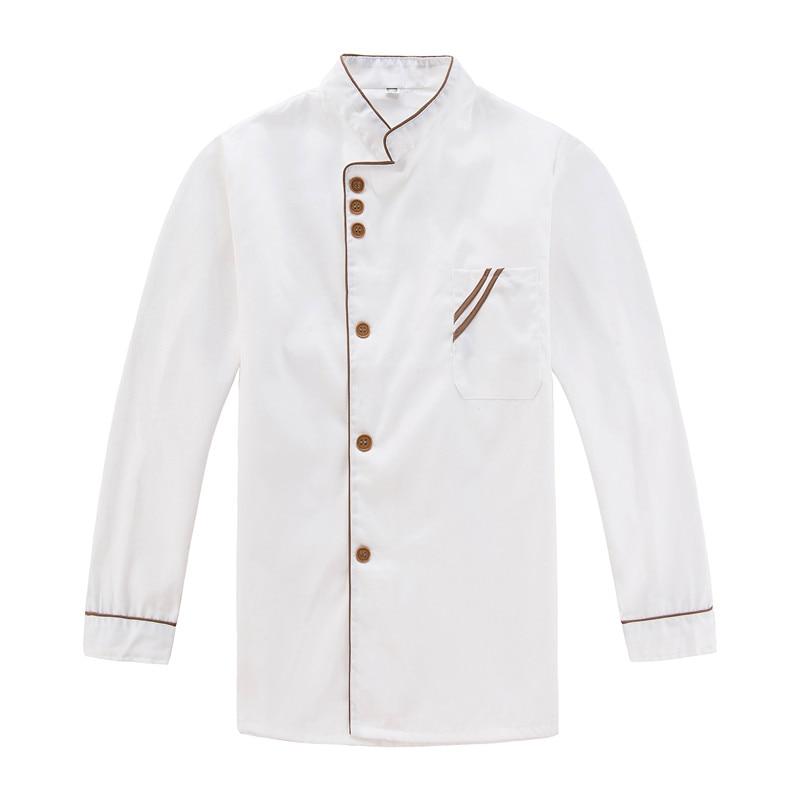 Chef's Overalls Chef Jacket Women Restaurant Kitchen Uniforms Sushi Chef Uniform Dropshipping