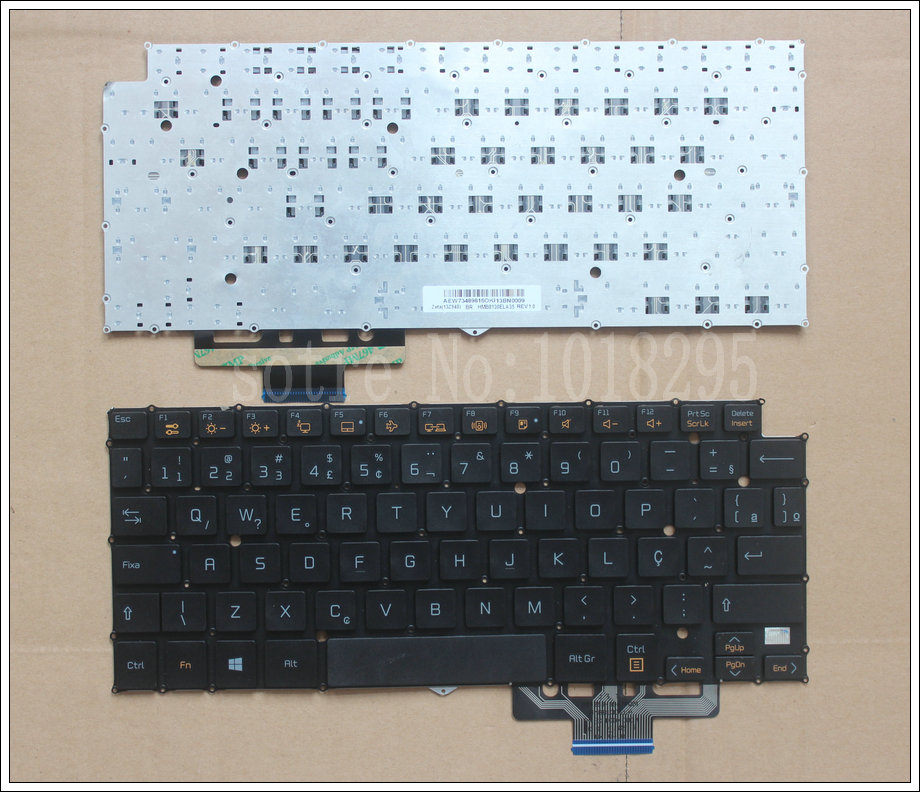 NEW Brazil Laptop Keyboard for LG 13Z930 13Z935 13Z940 Black BR KEYBOARD laptop keyboard for sony svs13a2c5e svs13a2v9r svs13a2w9e svs13a2x9e svs13a2x9r black without frame brazil br