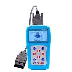 Najnowszy skaner diagnostyczny XD601 OBD2 OBDII EOBD samochodowy czytnik kodów Tester danych skaner diagnostyczny samochodu czytnik kodów Tester danych skanowanie