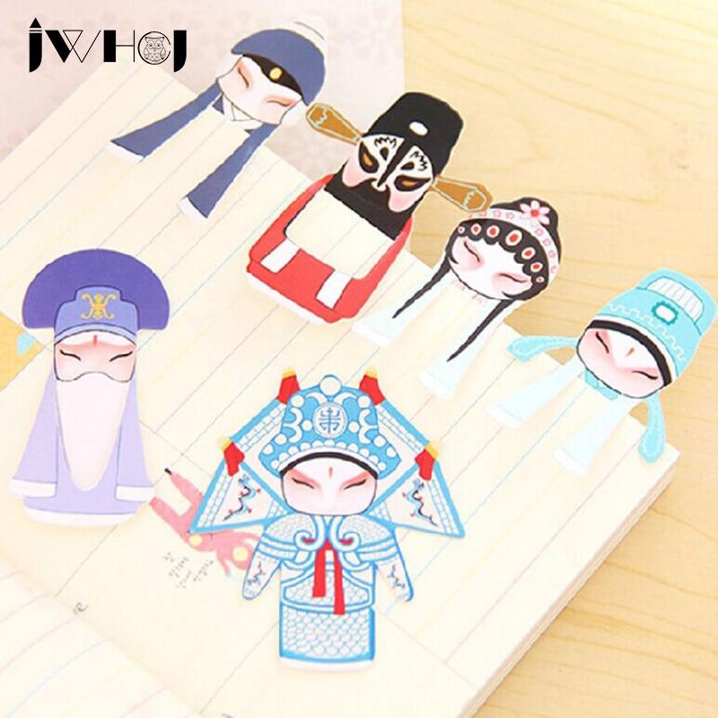 7pcs/set  Creative Beautiful Vintage China's Style Bookmark Paper Bookmarks Stationery Zakka School Supplie Papelaria