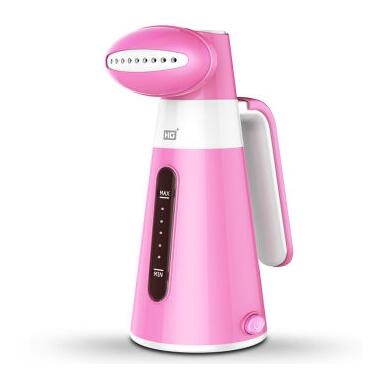 Фото Hand-hold Garment Steamer Hang ironing machine QH0160 Portable handheld steam ironing machine Pink color