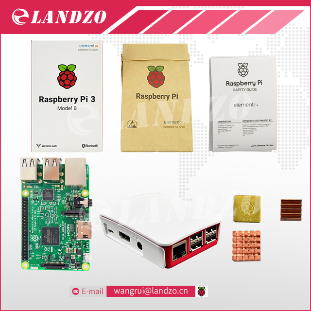 B Raspberry Pi 3 Starter Kit