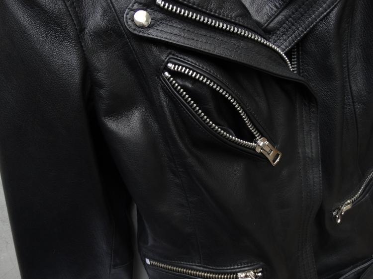 Cuir Mouton Épaulette Real Moto Naturel Manteau Livraison Avec Ups Gratuite Leather Black Veste En Véritable Ceinture Peau Femmes De Filles Femelle D'hiver qqFIBvwx