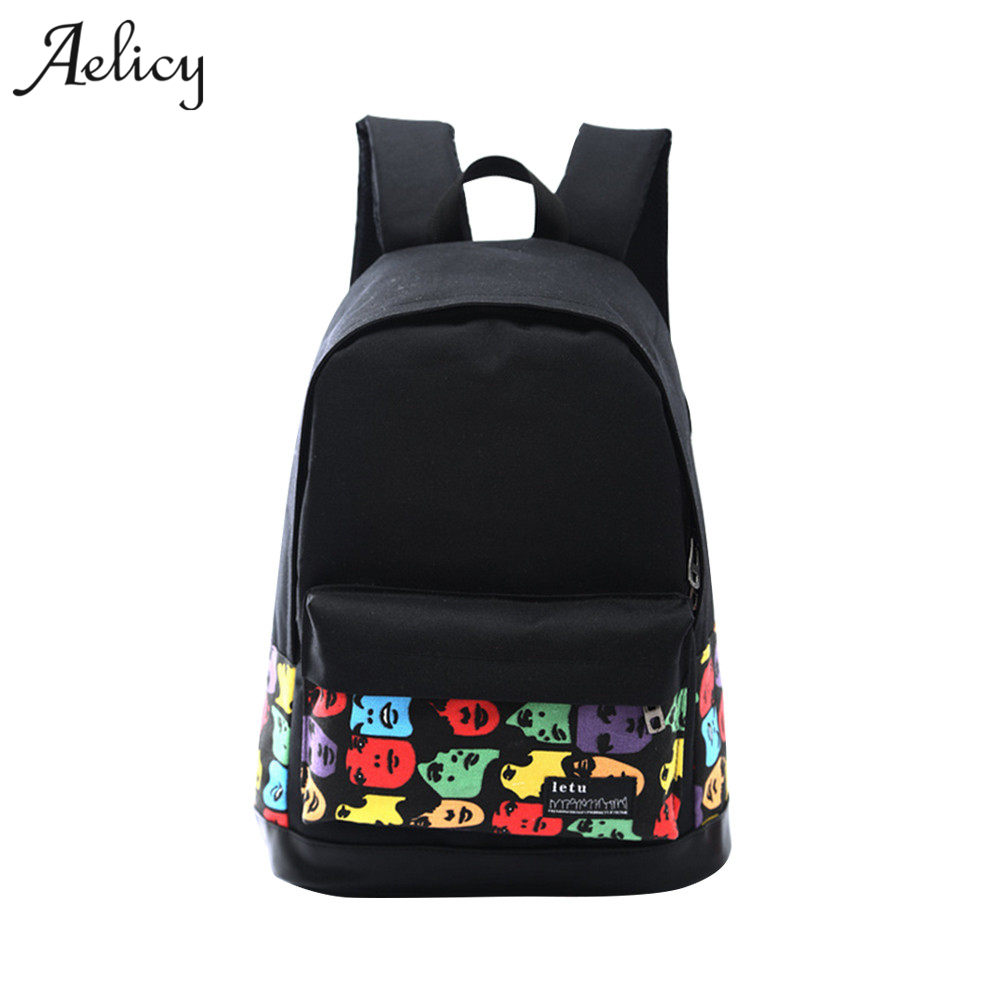 Backpack For School Teenagers Girls Vintage Canvas Backpack Ladies Backpacks Female Back Pack Mochila