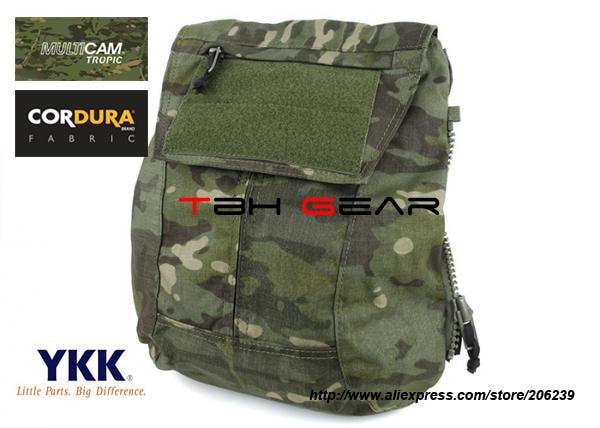 ТМЦ тактический молния на спине мешок вас JPC2 КПК.0 панель пакет мешок мультикам Тропик+Бесплатная доставка(SKU12050810)
