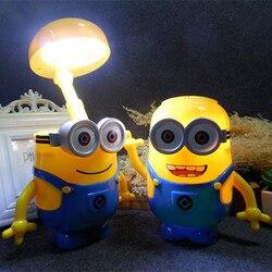 Minions novelty baymax cartoon led night light baby room kids bed lamp sleeping usb night lamp.jpg 250x250