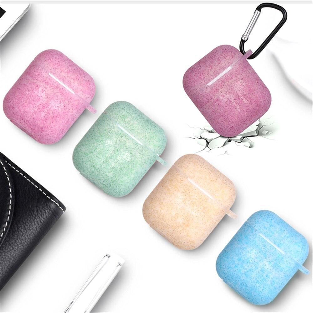 1 Pc Funkelnden Pulver Silikon Fall Abdeckung Kopfhörer Tasche Schutzhülle Haut Für Air Schoten Drahtlose Kopfhörer Fall Für Apple Airpods Diversifizierte Neueste Designs
