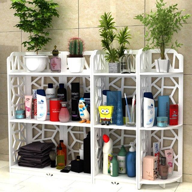 Attrayant All Sizes Bathroom Storage Shelves Toiletries Plants Shoes Sundries Storage  Rack Waterproof Bathroom Corner Cabinet Shower