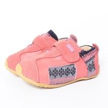 Tipsietoes primavera y otoño moda niños como zapatos casuales zapatilla de cuero para niñas niño plano envío gratis