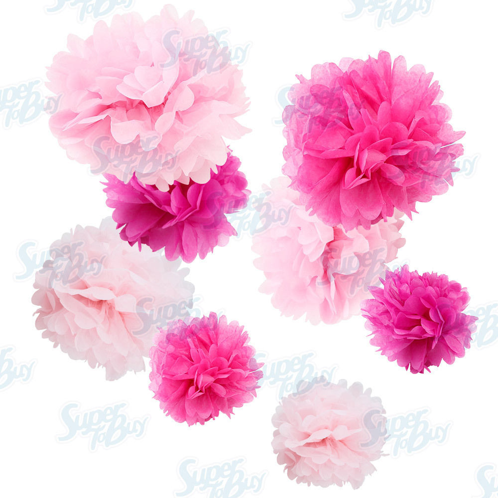 Wedding decoration decorations flower it 39 s a girl baby for Baby shower flower decoration