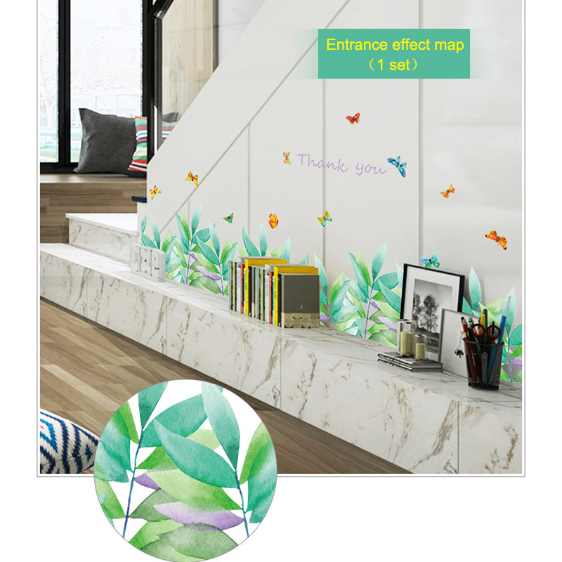 50x70cm Wall Sticker Art Fashion Background Decoration For Home Living Room Bedroom Office E2S