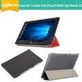 Estojo de couro PU Para Teclast X16 HD/X16 Plus/TBook 11, 10.6 polegadas TBOOK11/X16 plus/x16hd 3g Caso Tablet E Presente