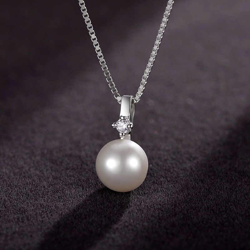 Sinya 925 סטרלינג תכשיטי כסף סטי עבור נשים עם מים מתוקים פניני עגיל תליון שרשרת & טבעת מתנה הטובה ביותר עבור אוהבים אמא