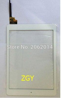Zgy nova substituição do painel de vidro do digitador da tela de toque de 9.7 polegadas para onda v975i v975w v989 (p/n 80701-0b5138a mb976a9)