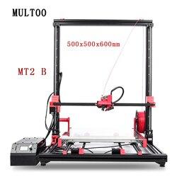Multoo MT2 wielkoformatowa prowadnica liniowa 500x500x600 śruba kulowa profesjonalna drukarka 3D wysoka precyzja 400*400*500