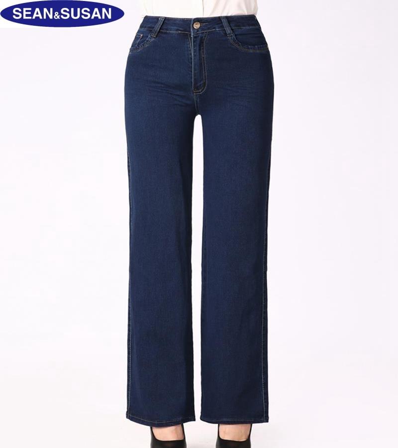 Online Get Cheap Women Plus Size Wide Leg Jeans -Aliexpress.com ...