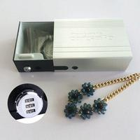 Giantree Car Safe Box Key Jewelry Cash Pistol Storage Boxes Aluminum Alloy Security Fixed