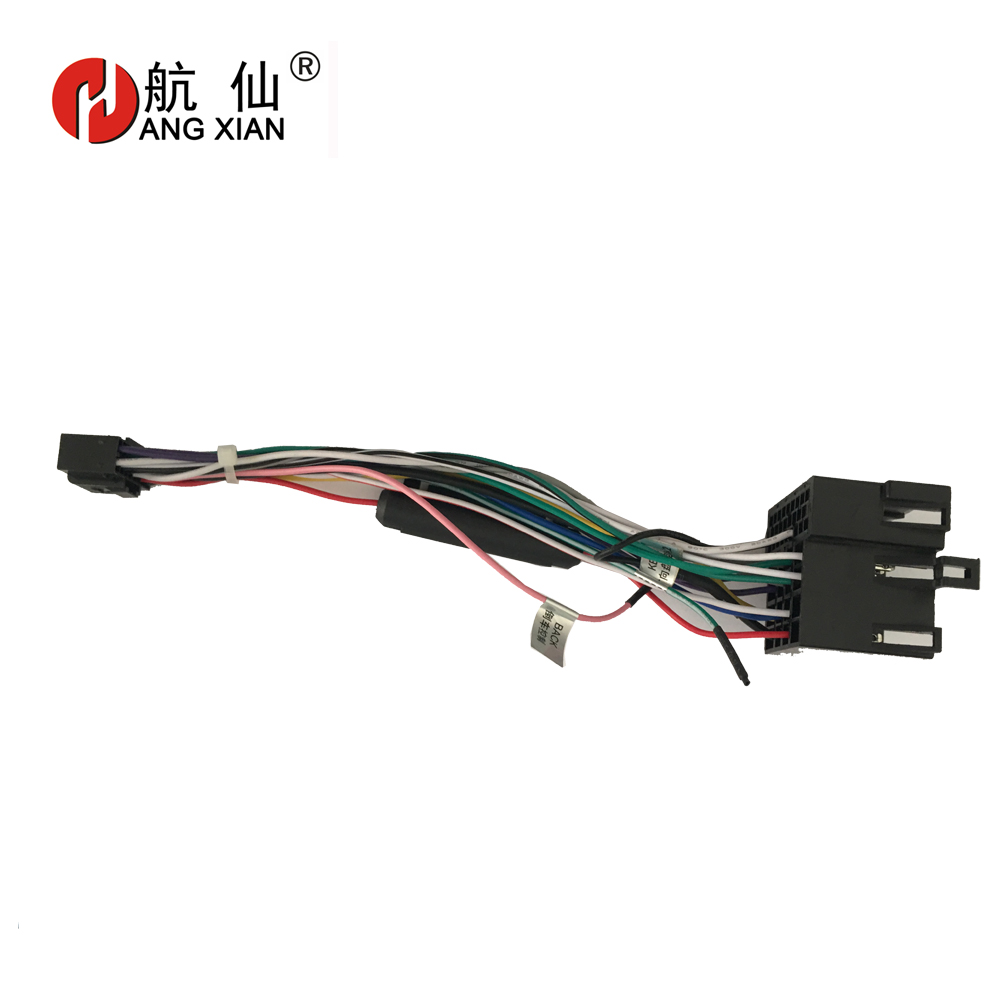 2 Din Car Radio Female ISO Radio Plug Power Adapter Wiring Harness Special For KIA Forte Sportage Hyundai Tucson Harness Cable