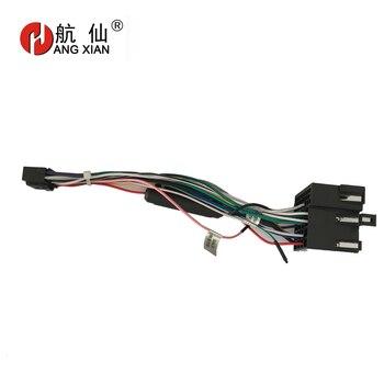 2 din Car Radio Female ISO Radio Plug Power Adapter Wiring Harness Special for KIA Forte Sportage Hyundai Tucson harness cable turbo cartridge chra core gtb1649v 757886 757886 5003s 28231 27400 757886 0003 for hyundai tucson for kia sportage ii d4ea 2 0l