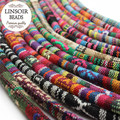 LINSOIR 5meters/lot 6mm Fabric Cotton Cords Strings Necklaces Bracelets Cord Rope Thread for DIY Jewelry Making Findings F2817