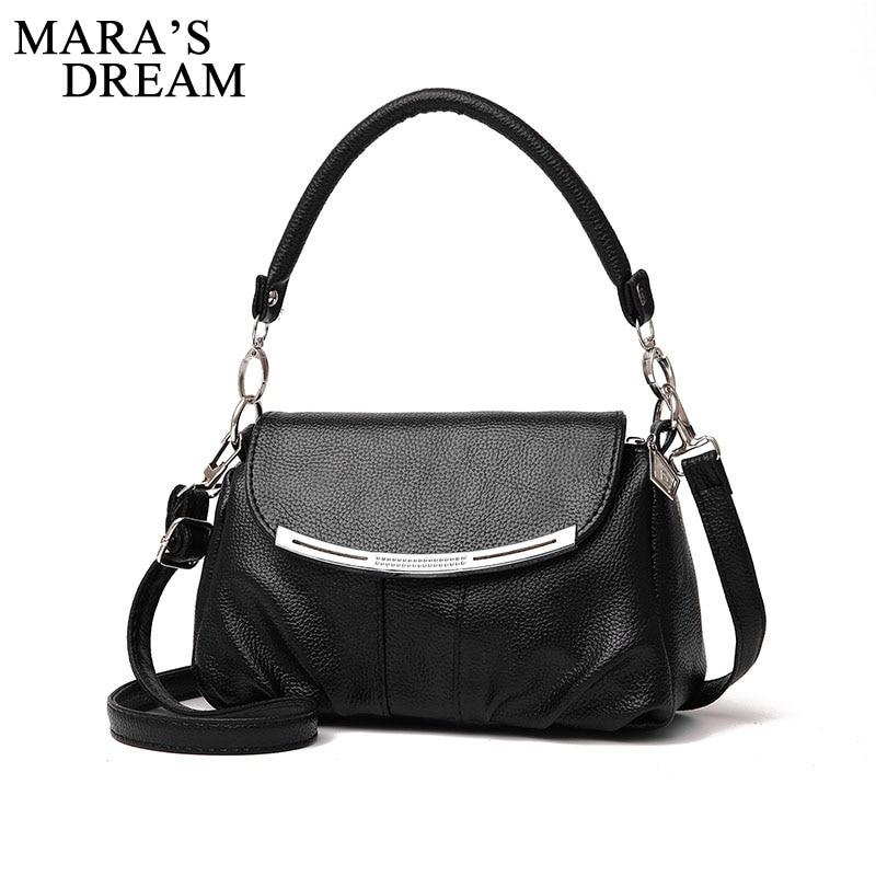 Mara S Dream Women Bag Fashion Pu Leather Handbags Bolsas Female Top Handle Bags Tote Shoulder Messenger