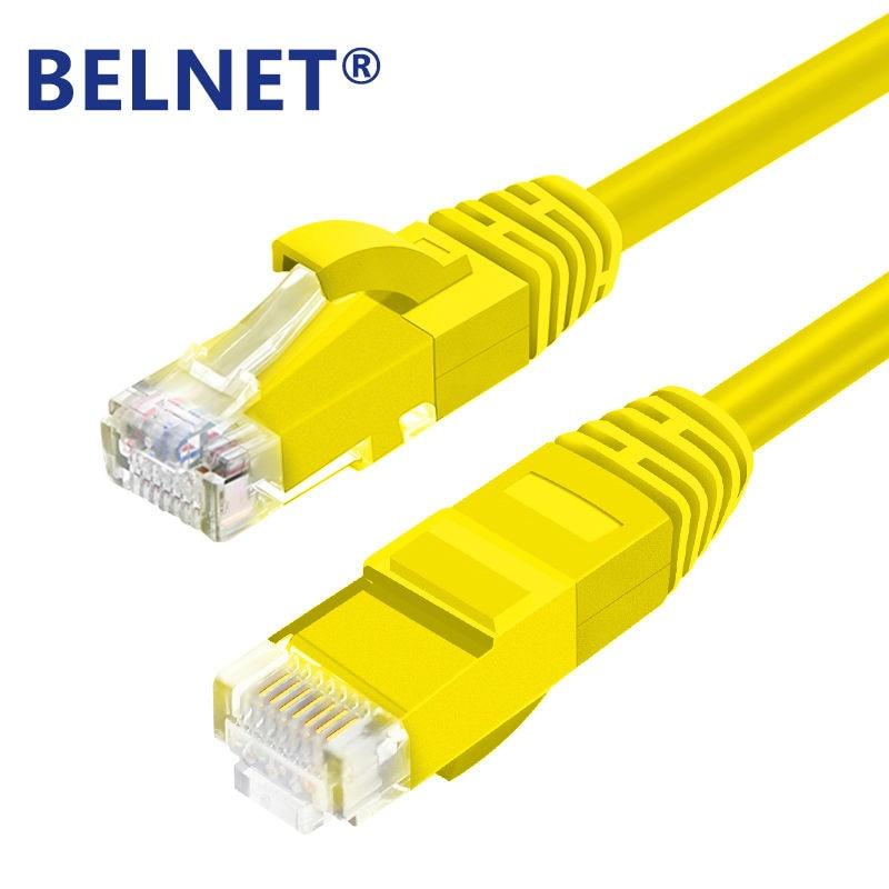Belnet მაღალი სიჩქარე RJ45 პაჩის კაბელი CAT6 UTP Ethernet ქსელის საკაბელო LAN კაბელი კომპიუტერის ლეპტოპისთვის