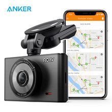 Roav por anker dash cam c2 pro com fhd 1080p, sensor de sony starvis, lente grande angular de 4 pistas, registro de gps, wi-fi, aplicativo dedicado, g-sensor