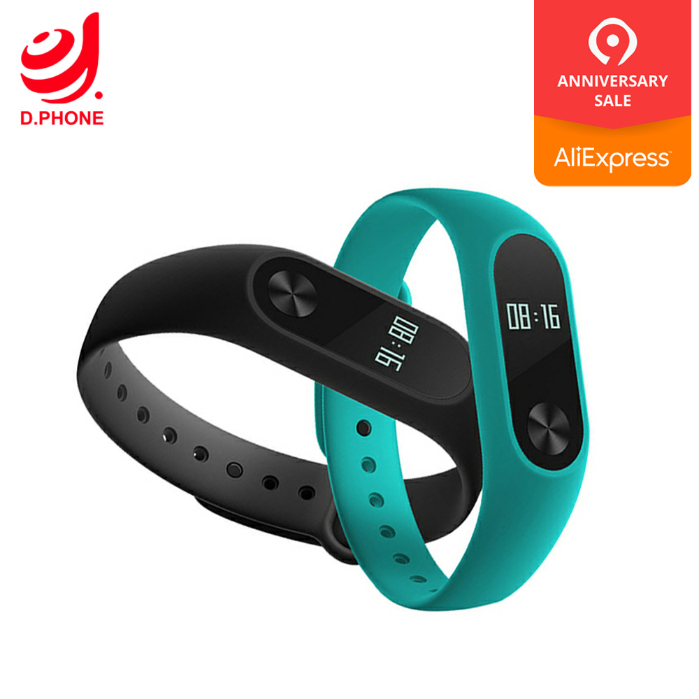 Intelligente Elektronik Unterhaltungselektronik Xiao Mi Mi Band 2 Smart Uhr Mi Band2 Armband Xiao Mi Uhr Oled Display Touchpad Herz Rate Monitor Bluetooth Fitness Track